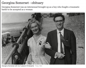 RIP Georgina Somerset