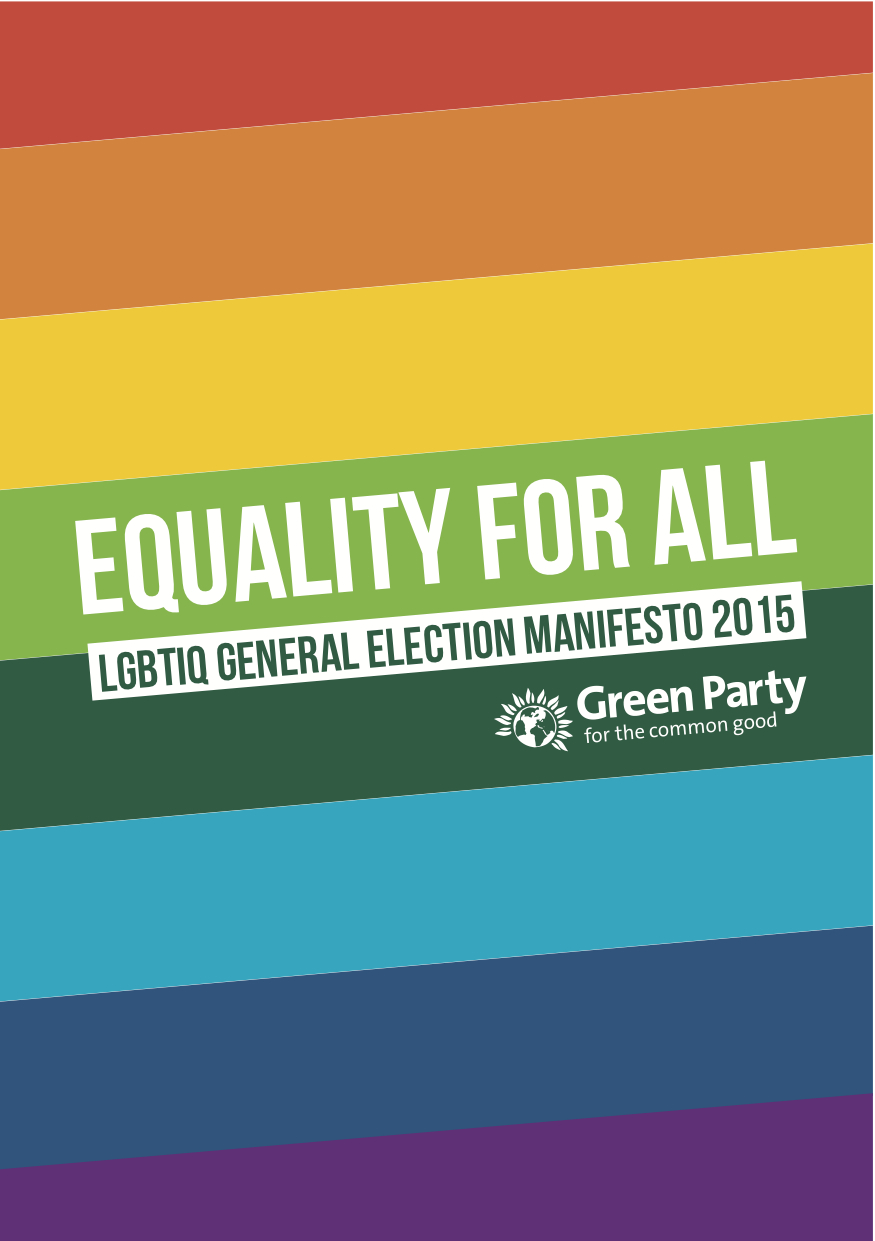 Green Party LGBTIQ Manifesto