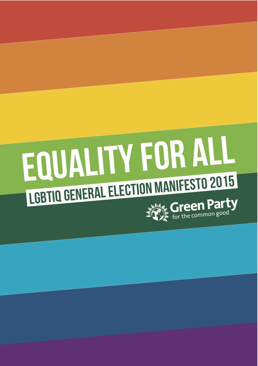 Green Party LGBTIQ Manifesto